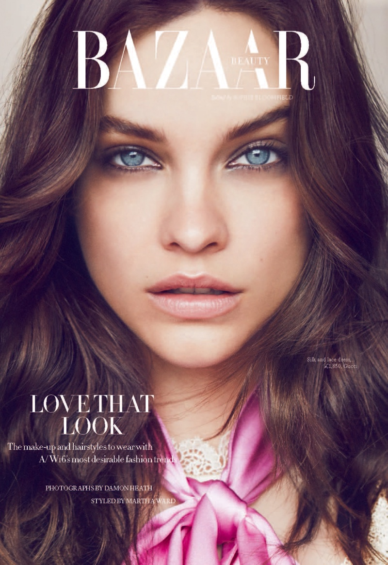 Barbara Palvin stars in Harper's Bazaar UK's September issue
