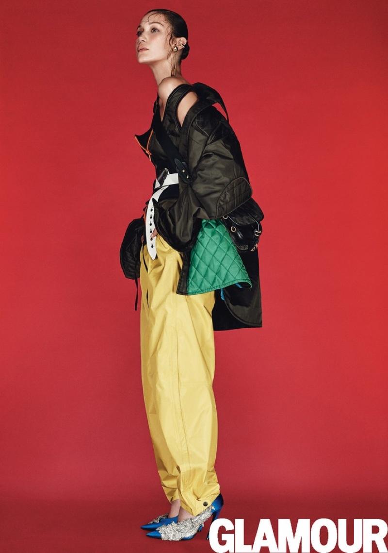 Bella Hadid Wears Autumn S Sportiest Looks For Glamour