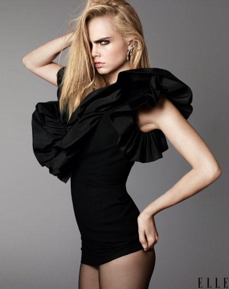 Cara Delevingne Lands ELLE's September Issue, Talks Being an Inspiration