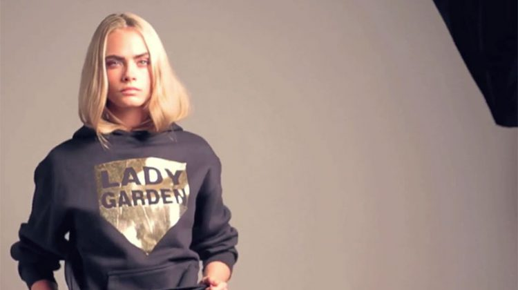 Cara Delevingne Blooms with Lady Garden Campaign