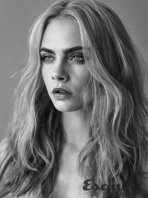 Cara Delevingne Graces The Cover Of Esquire UK In Nothing
