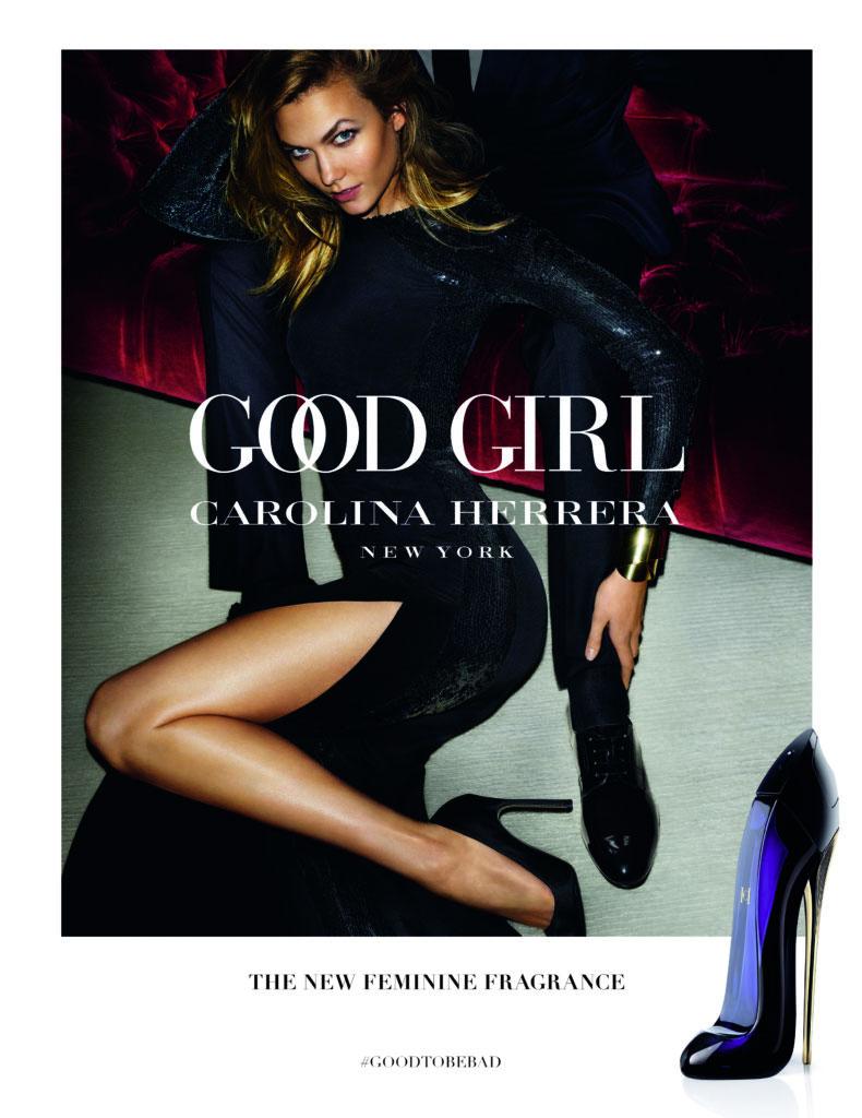 Karlie Karloss stars in Carolina Herrera Good Girl fragrance campaign