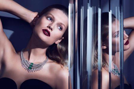 Toni Garrn Dazzles in Cartier 'Magicien' Jewelry Campaign