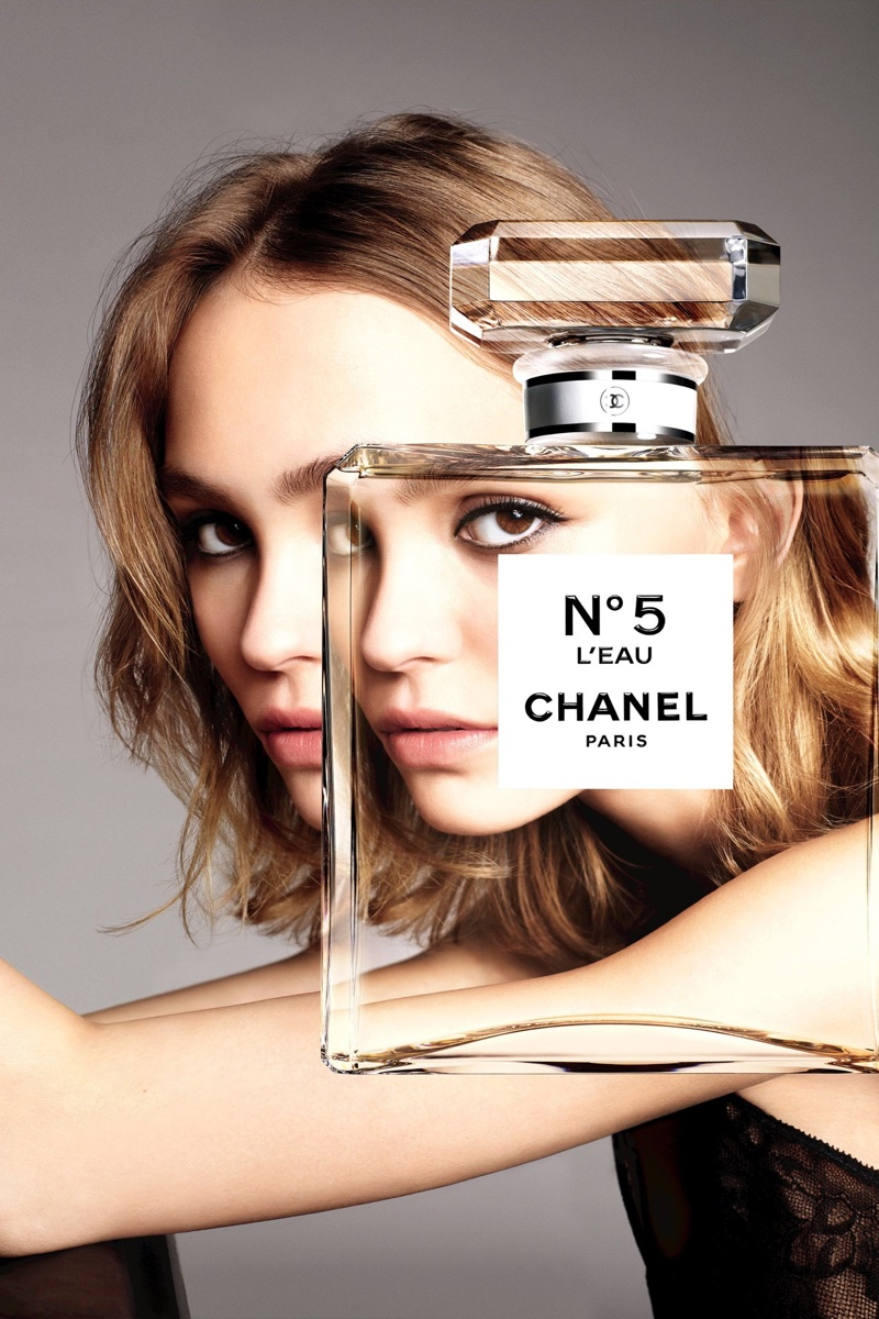 Lily-Rose Depp stars in Chanel No. 5 L'eau perfume campaign