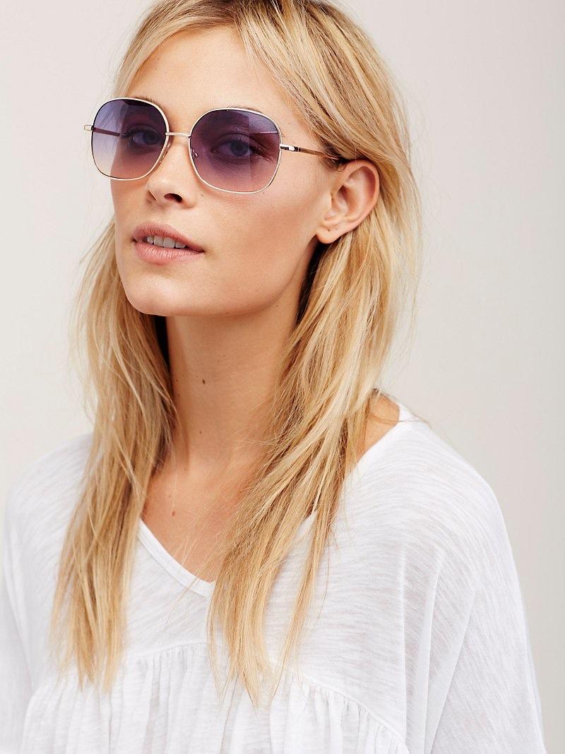 Free People Charm School Sunglasses