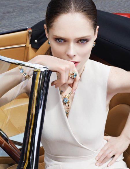 Coco Rocha Dazzles for Roberto Bravo Jewelry Campaign