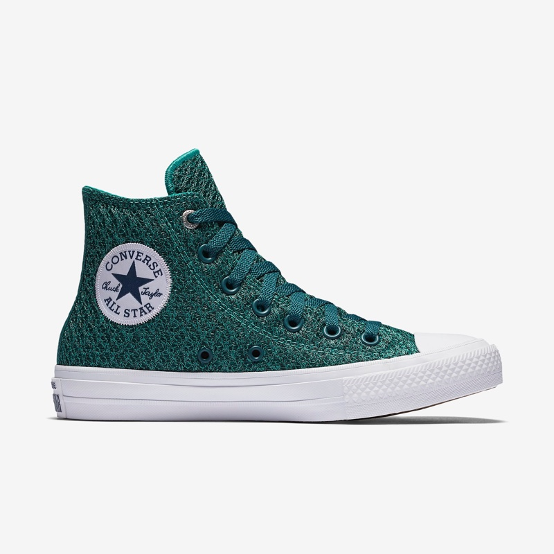 a897b9319cf530 Converse Chuck Taylor All-Star II Spacer Mesh High Top in Aqua  90