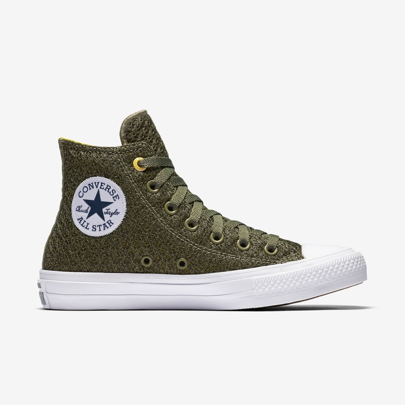 Converse Chuck Taylor All-Star II Spacer Mesh High Top in Fatigue