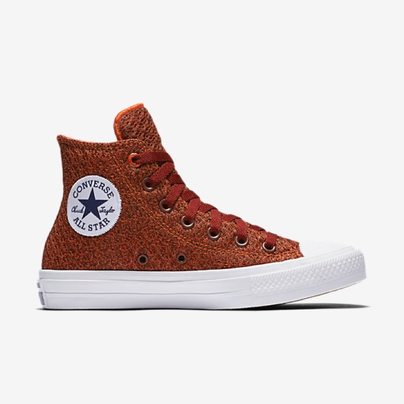 Converse Chuck Taylor All-Star II Spacer Mesh High Top in Red