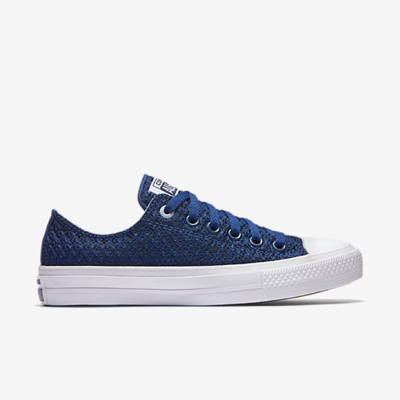 Converse Chuck Taylor All-Star II Spacer Mesh Low Top in Blue