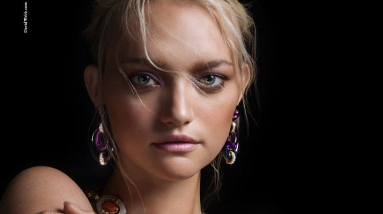 David Webb Taps Gemma Ward, Tali Lennox for its Fall Jewelry Campaign