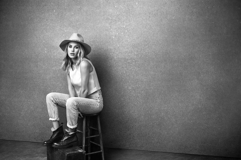 Dylan Penn stars in Frye's fall-winter 2016 campaign