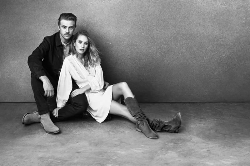 Boyd Holbrook and Dylan Penn star in Frye's fall-winter 2016 campaign
