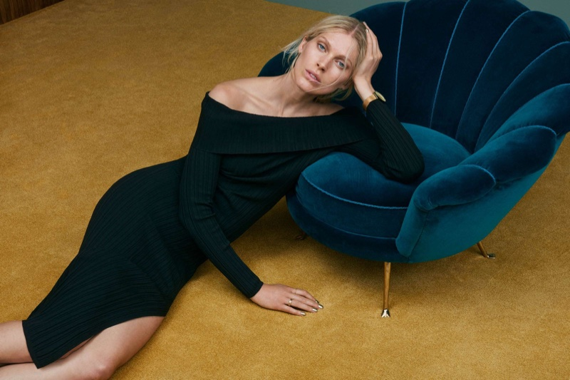 H&M Off-the-Shoulder Dress