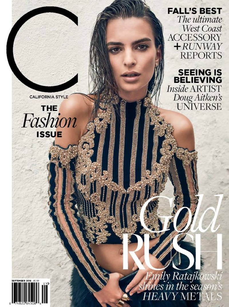 Week In Review Emily Ratajkowski S Gold Cover Lily Rose