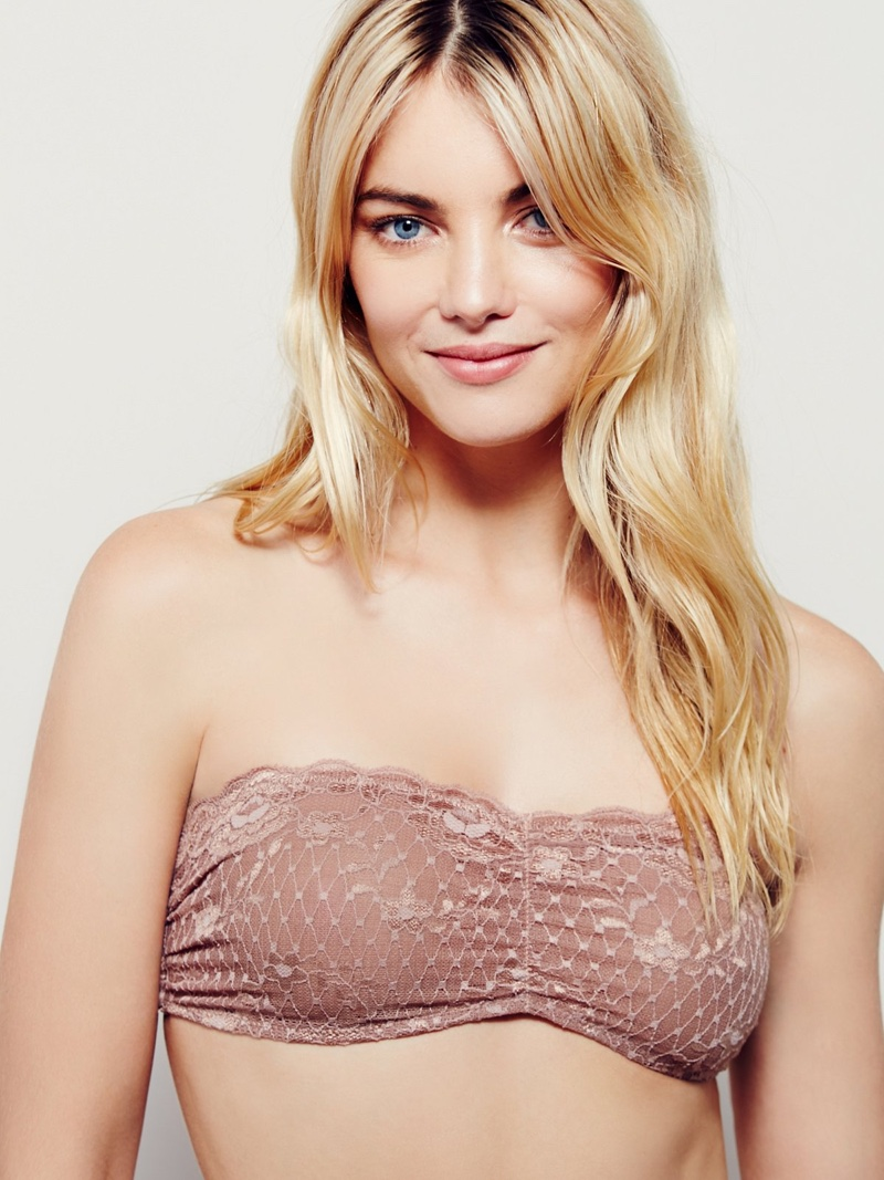 Intimately Free People Essential Lace Bandeau Bra $20.00