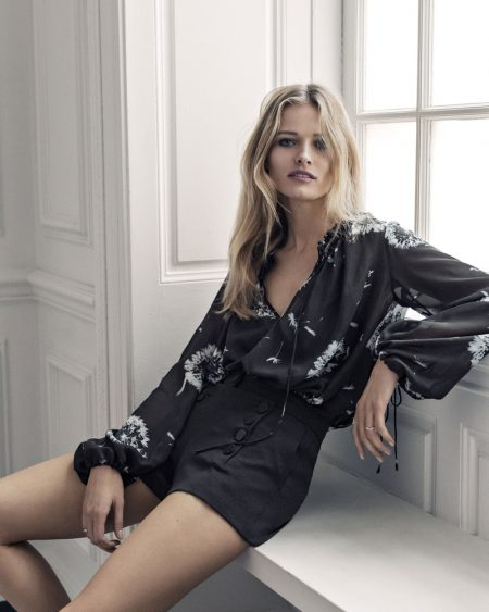 Edita Vilkeviciute Models Express' Luxe 'Edition' Collection