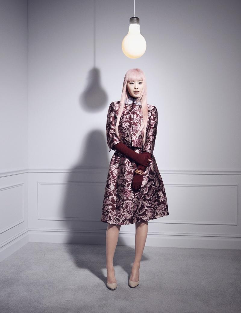 Fernanda Ly stars in Bergdorf Goodman Magazine's fall issue