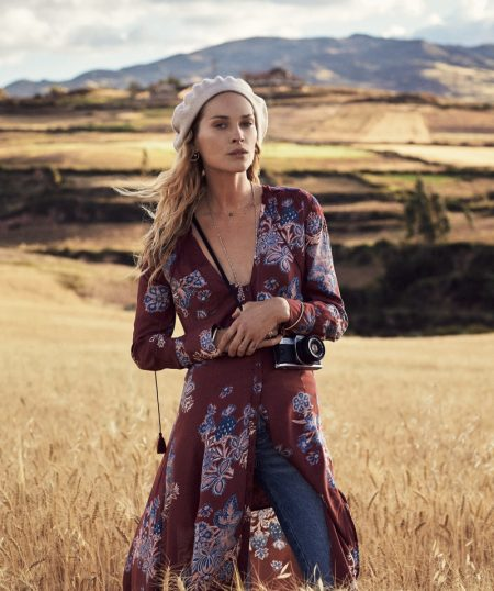 Erin Wasson Journeys to Peru for Free People's August Catalog