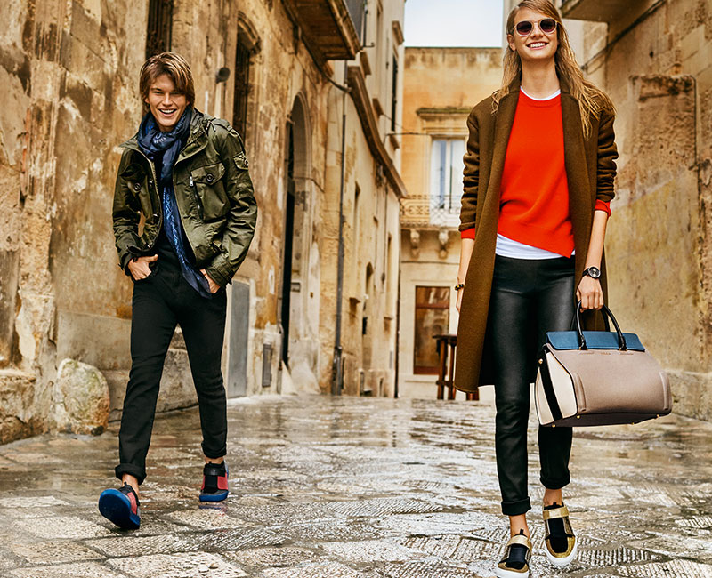 Furla stages its fall-winter 2016 campaign in the Italian city of Lecce.