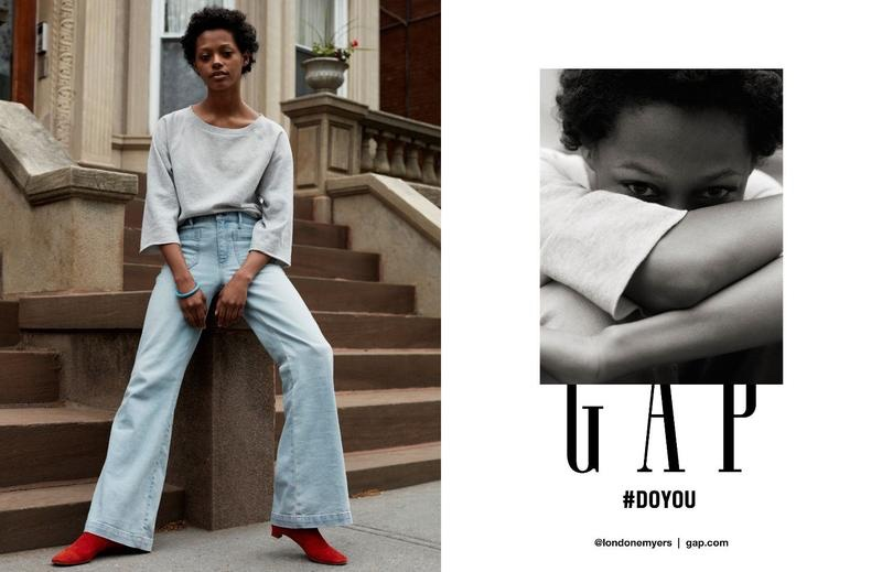 Londone Myers stars in Gap's fall-winter 2016 campaign