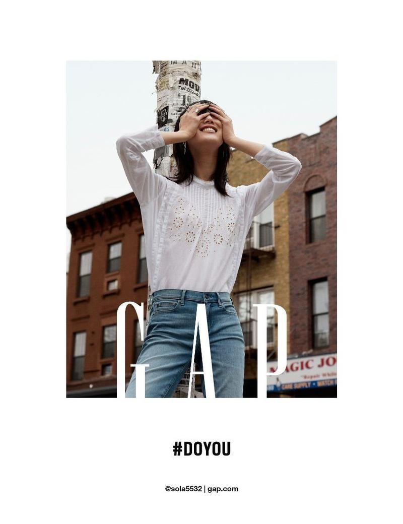 Sora Choi stars in Gap's fall-winter 2016 campaign