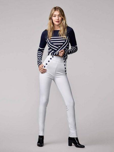 Gigi Hadid's Tommy Hilfiger Collab is Nautical Cool