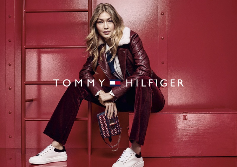 Gigi Hadid stars in Tommy Hilfiger's fall-winter 2016 campaign