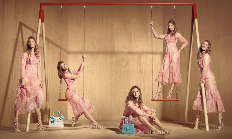 Gisele Bundchen Goes Back to Her School Days in Arezzo's Summer Ads