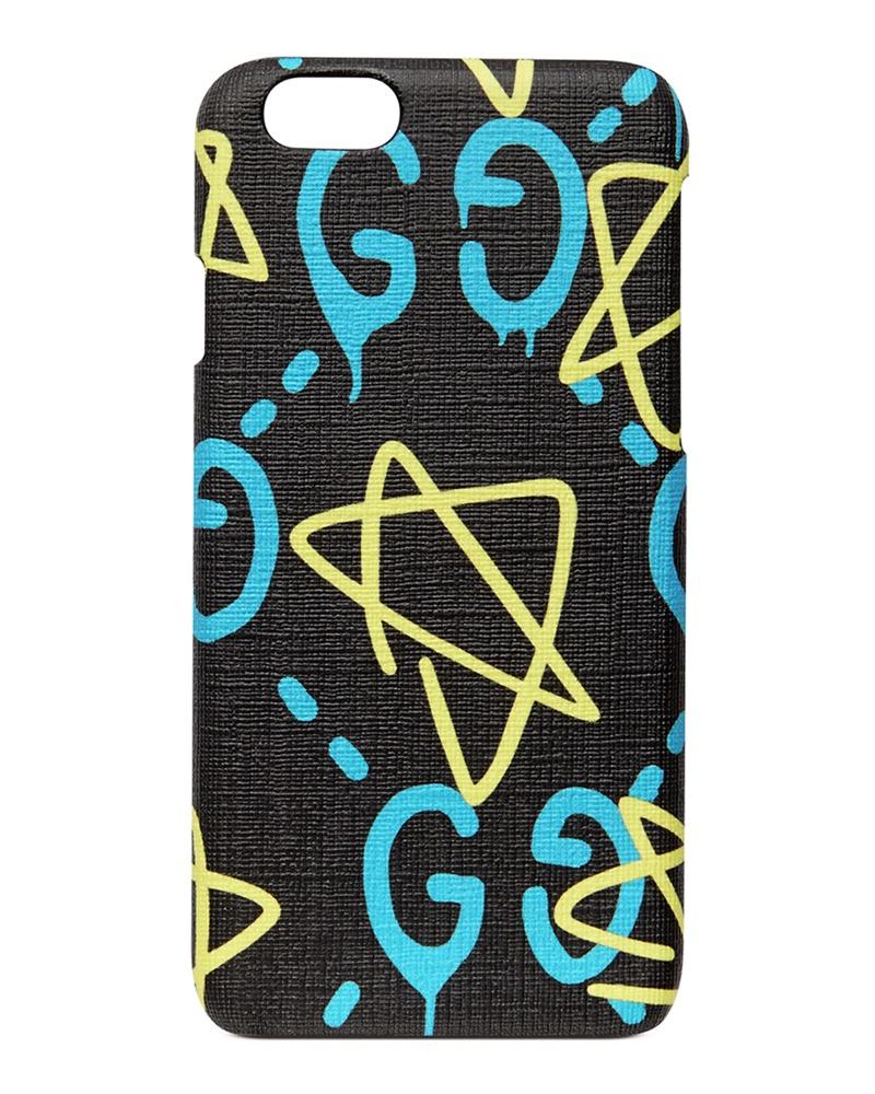Gucci x GucciGhost Graffiti Print iPhone 6/6s Case