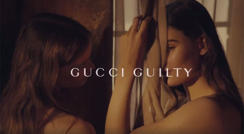 Gucci's New 'Guilty' Campaign Sells Allure