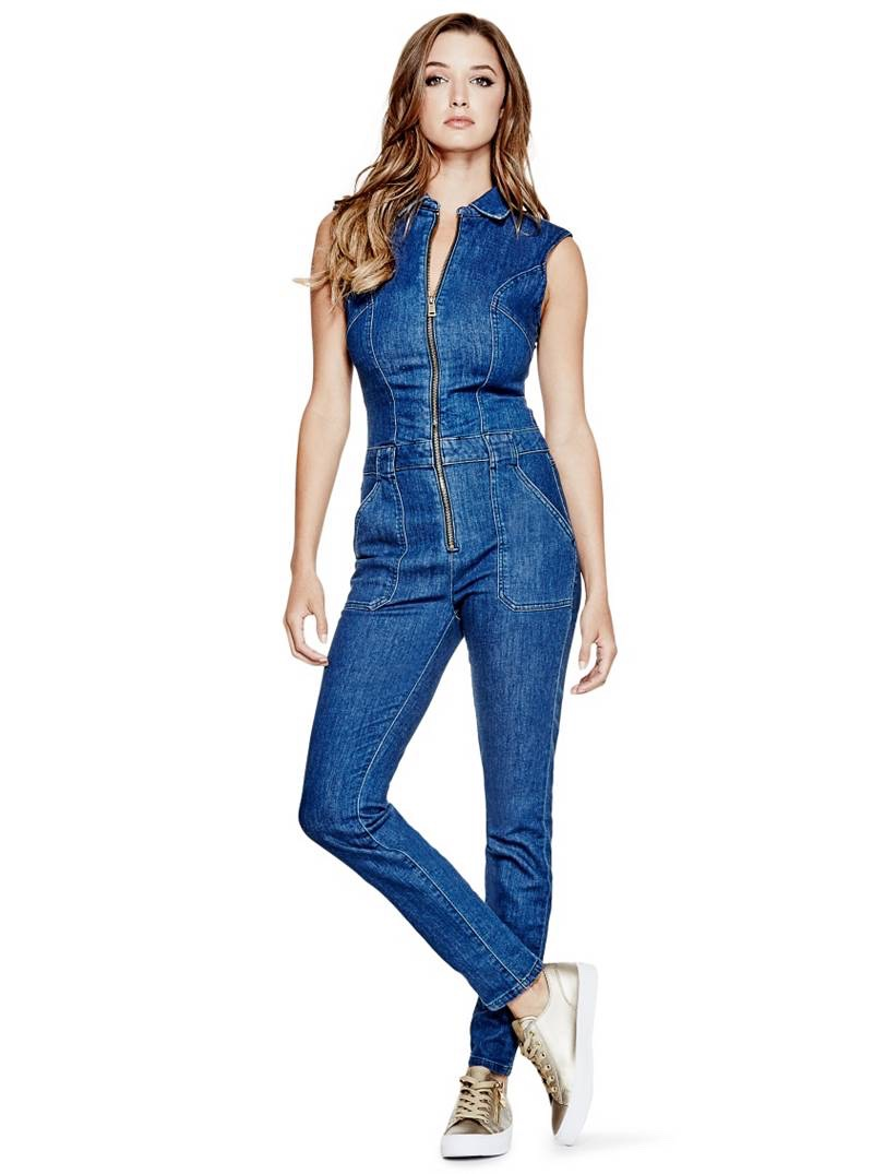 Guess Jessie Denim Jumpsuit