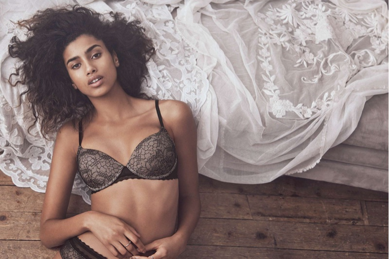 H&M Padded Lace Bra and Lace Hipster Briefs