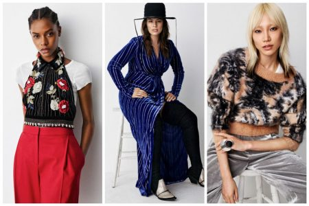 Ashley Graham, Soo Joo Park Model H&M's Fall Studio Collection