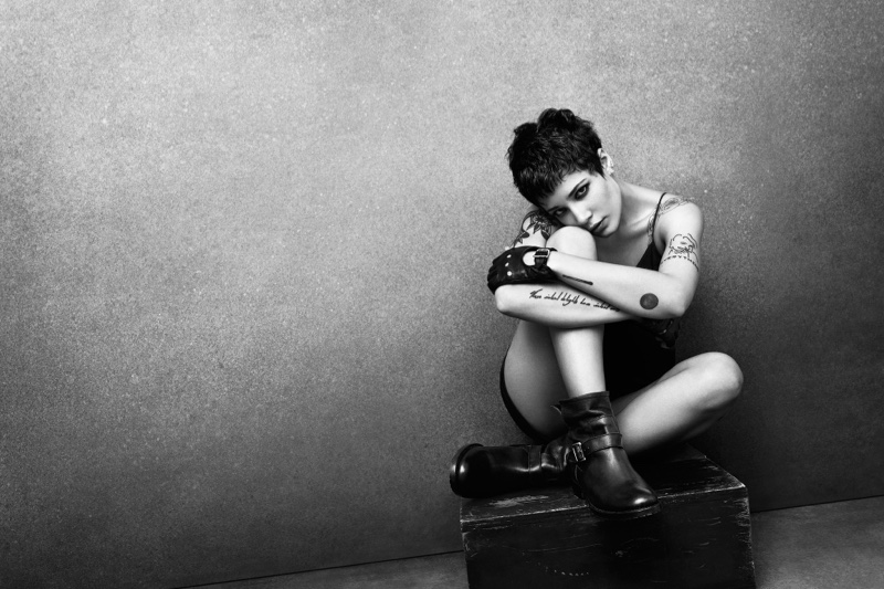 Halsey stars in Frye's fall-winter 2016 campaign