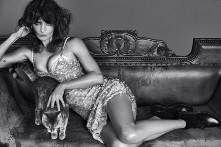 Helena Christensen Seduces in Vogue Portugal Spread