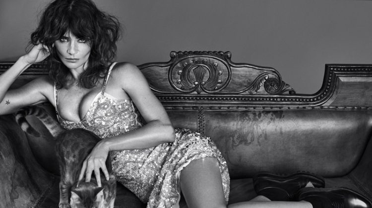 Helena Christensen Seduces in Vogue Portugal Spread