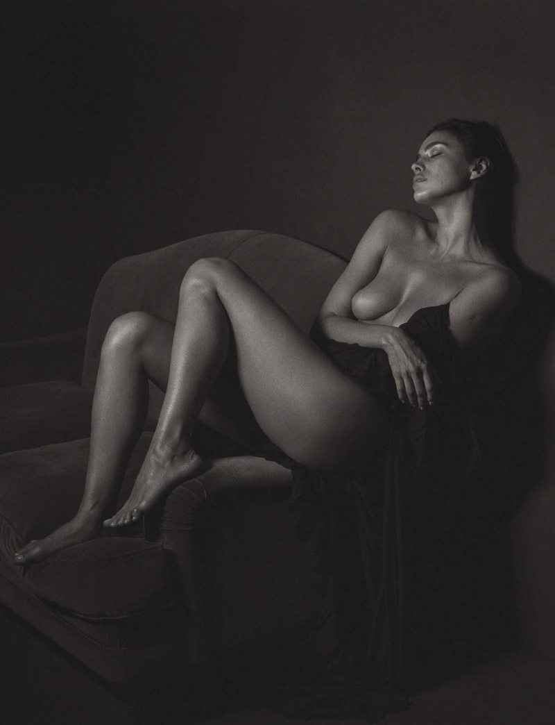 Model Irina Shayk is not afraid to bare all in a naked photoshoot