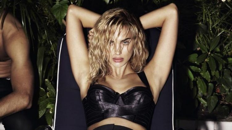 Irina Shayk Goes Blonde Bombshell for Vogue Russia Spread