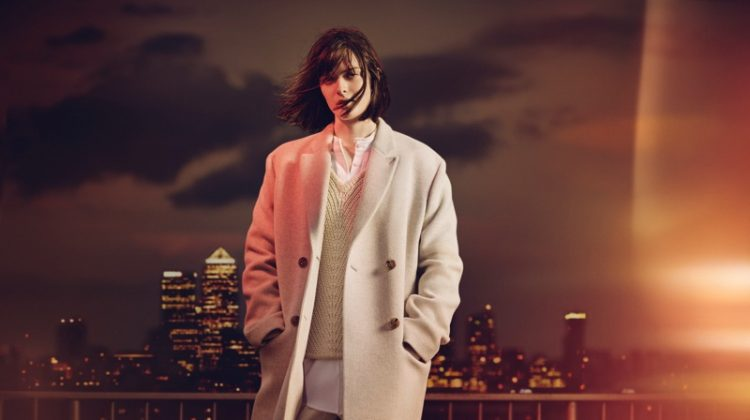 Sam Rollinson Layers Up in Jaeger's Fall 2016 Campaign