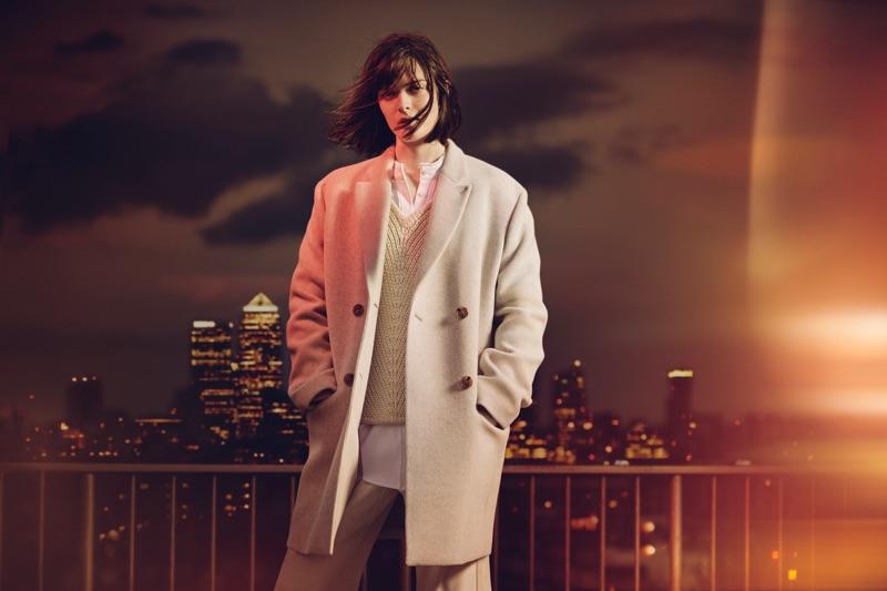 Sam Rollinson stars in Jaeger London's fall-winter 2016 campaign