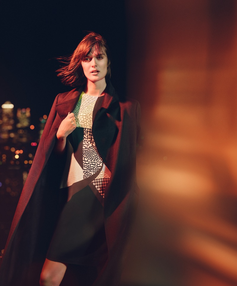 Sam Rollinson wears a tailored jacket in Jaeger London's fall 2016 campaign