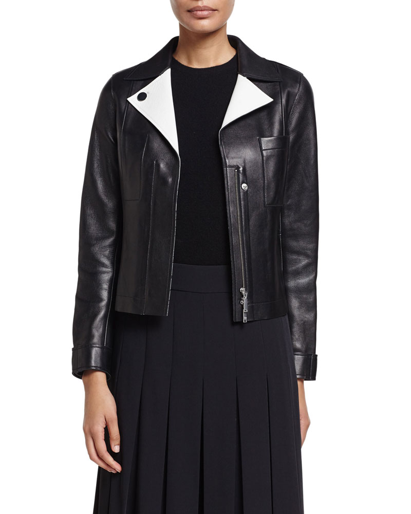 Jason Wu Lambskin Leather Jacket