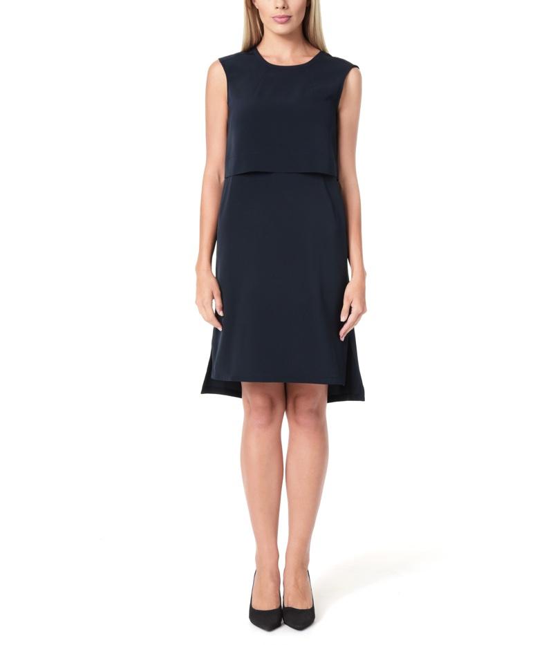 Jones New York High-Low Hem Dress