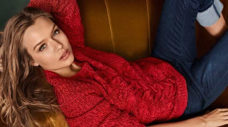 Josephine Skriver Models Effortless Style in Vero Moda's Fall Campaign