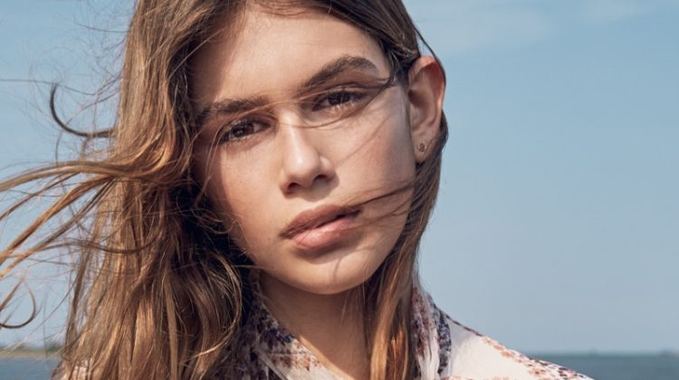 Kaia Gerber Poses in Dreamy Looks for Teen Vogue