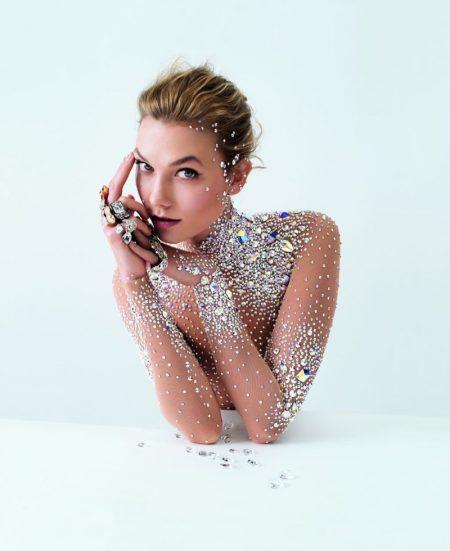 Karlie Kloss Fronts Swarovski's Star-Studded Fall Ads