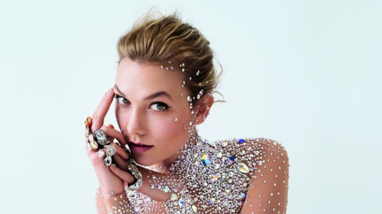 Karlie Kloss Fronts Swarovski's Star-Studded Fall Ads