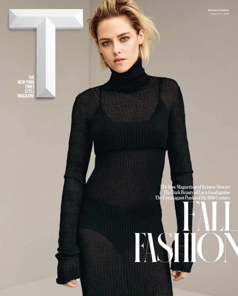 Kristen Stewart on T Magazine Fall 2016 Cover