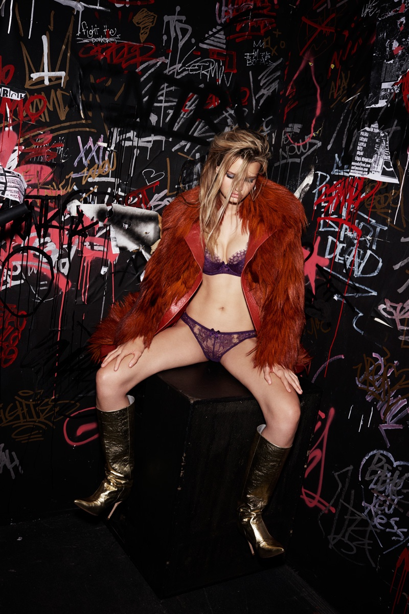 L'Agent by Agent Provocateur fall 2016: Idalia bra and panty set